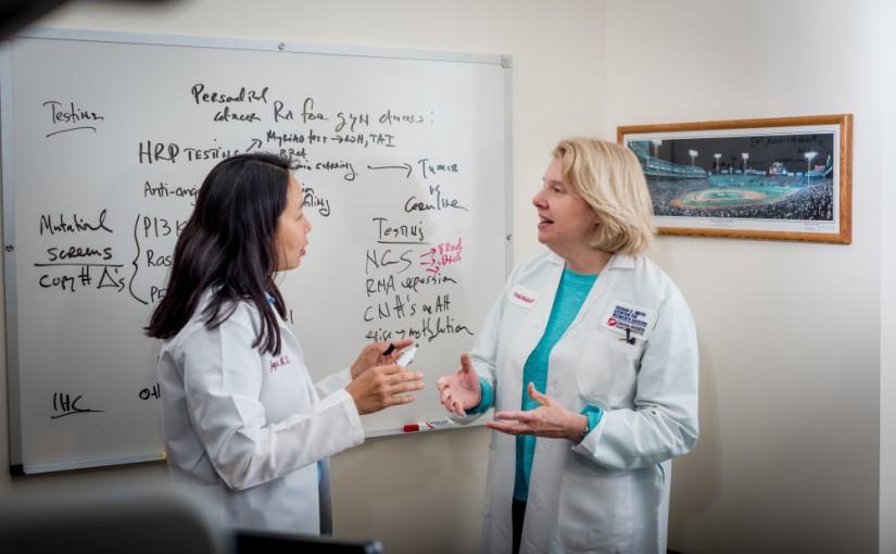 New Guidance for Targeting Residual Ovarian Tumors
