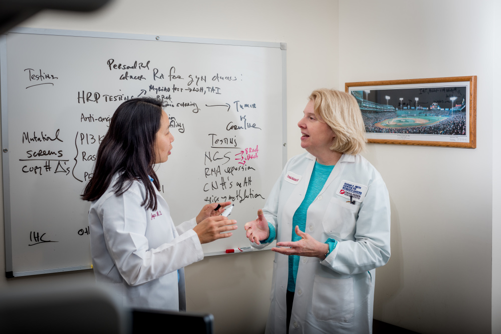patient family care study on ovarian Case study: patient with platinum-resistant recurrent ovarian cancer for some patients the best option may be supportive care.