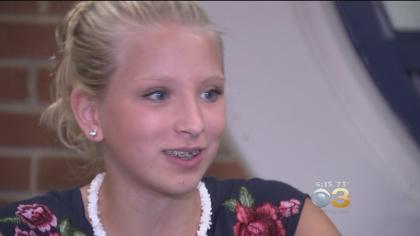 Teen Girl Overcomes Ovarian Cancer