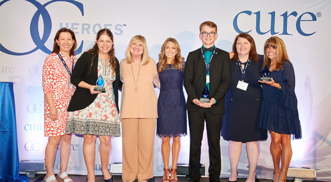Patients and Their Teams Are Celebrated at the Second Annual Ovarian Cancer Heroes Event