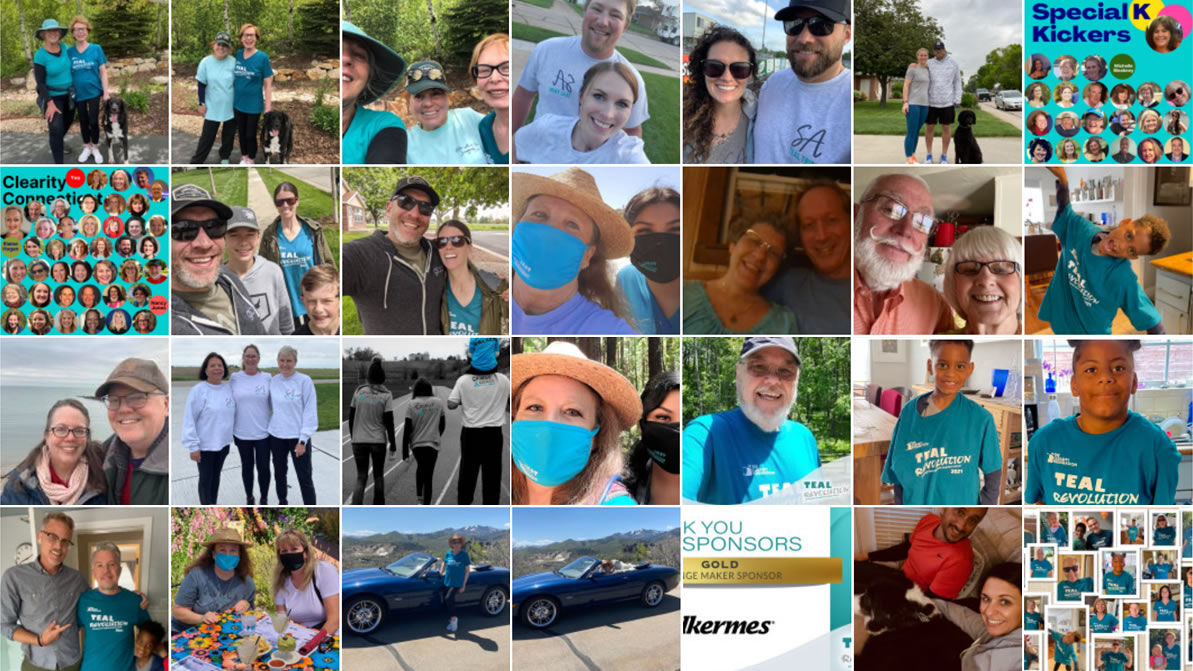 Teal Revolution event photo gallery
